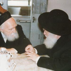 עם הרב משה פיינשטין