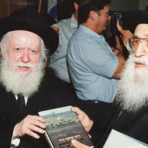 עם הרב שלמה גורן