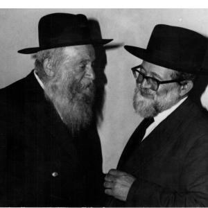 עם הרב צבי יהודה