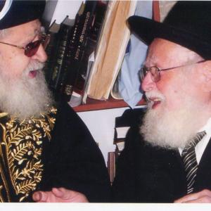עם הרב עובדיה יוסף